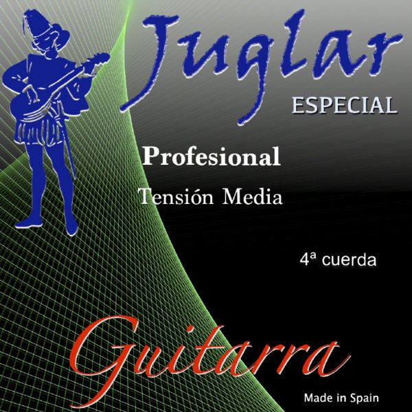 Juglar Guitarra Tensión Media 4ª
