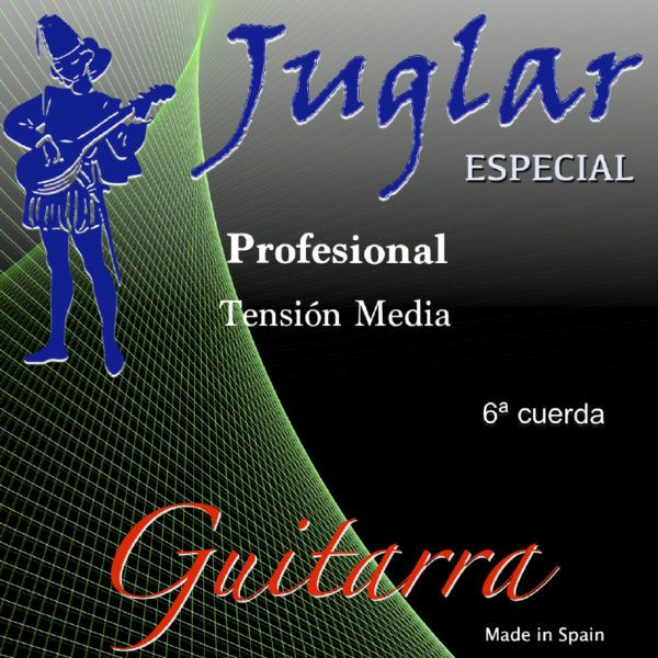 Juglar Guitarra Tensión Media 6ª